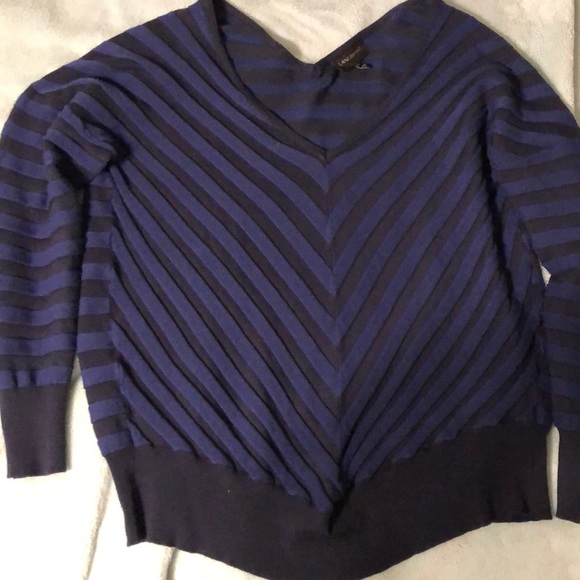 Lane Bryant Sweaters - Lane Bryant Black and Blue Sweater